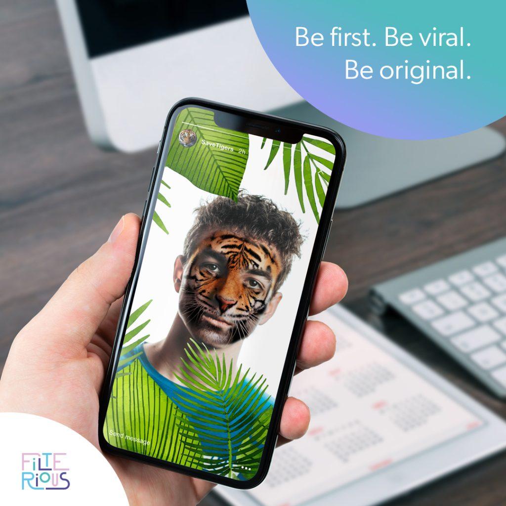 Instagram AR filter helps marketing campaigns