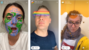 People are using Instagram AR Filters