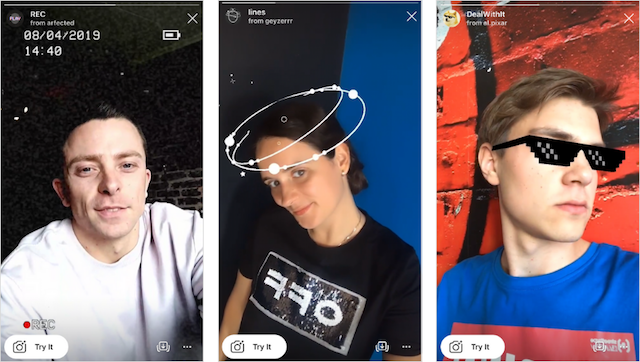 People are using Face AR SPARK filters